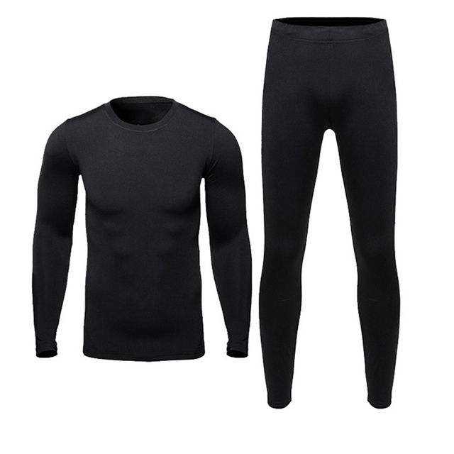 2017 Men's Outdoor Sport Hot-Dry Technology Surface Bicycle Skiing Winter Warm Long Jersey Fitness Thermal Underwear Base Layers