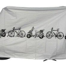 30 Uds x cubierta impermeable de la motocicleta de la bicicleta de la montaña de la carretera de la vendimia cubierta a prueba de polvo impermeable y cubierta de la bicicleta de la lluvia