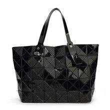 2015 New  women pearl bag Diamond Lattice Tote geometry Quilted shoulder bag sac bags handbags women famous brands