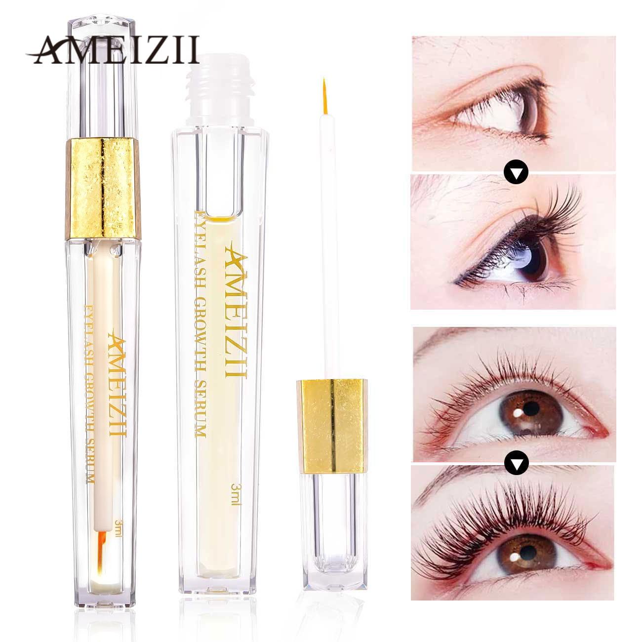 afeedeece76 Ameizii Eyelash Growth Serum Eyelash Enhancer Lash Lift Kirpik Lifting Eye  Lashes Treatments Maquillage Yeux Grow Essence Oil ~ Super Sale July 2019