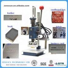 10cm x 13cm Guaranteed Manual Hot Foil Stamping Tipper Bronzing Machine, Golden Press Heat Printer Stamping Machine FOR PVC CARD