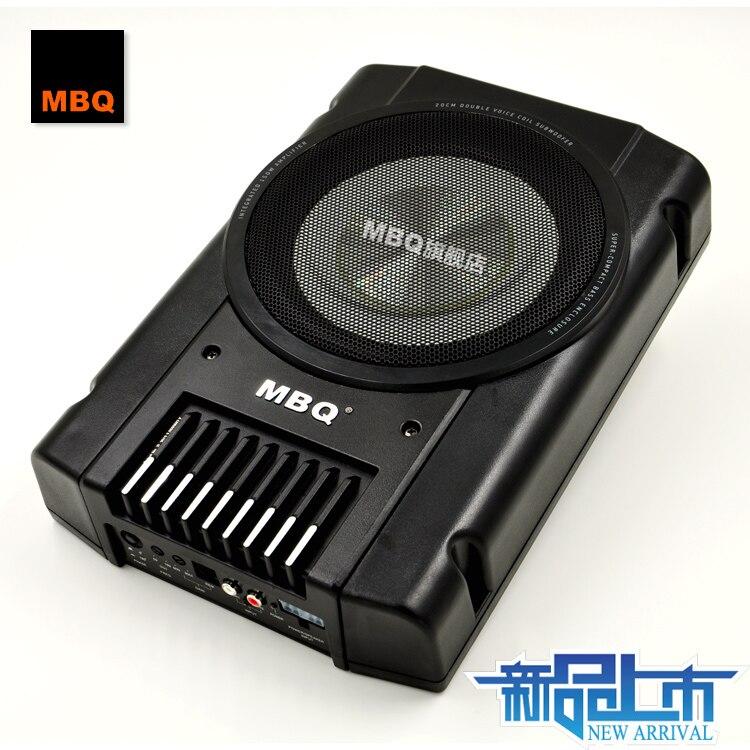 Mbq car audio seat 8 speaker ultra thin active subwoofer ... Mbq Subwoofer Wiring Diagram Active on