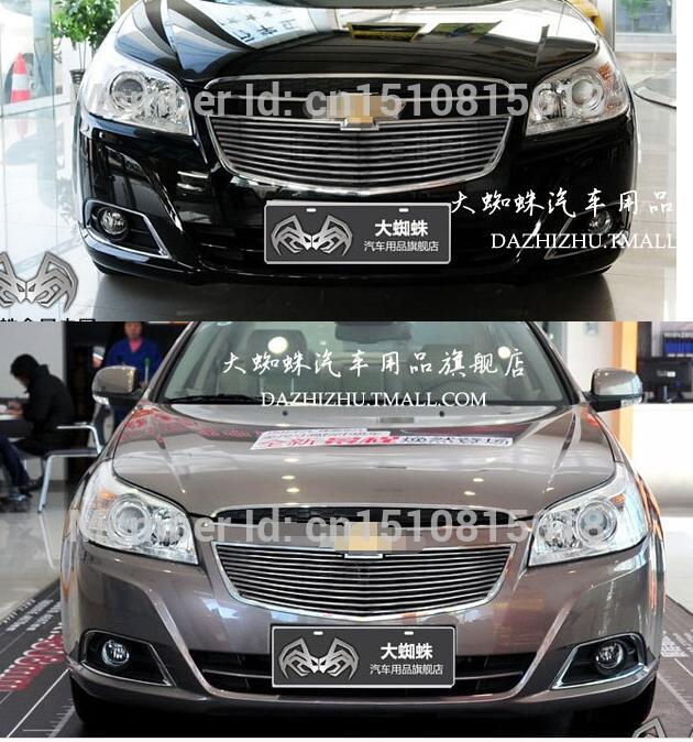 Quality Stainless steel Car front bumper Mesh Grille Around Trim Racing Grills 2013-2016 for Chevrolet Epica abs chrome front grille around trim racing grills trim for 2013 hyundai santa fe ix45