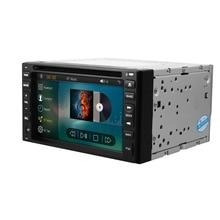 """6.2 """"Nueva Radio de Coche universal Doble 2Din coches reproductor de dvd GPS Unidad Principal de navegación En el tablero PC Del Coche Estéreo de vídeo + Free + Free Cad!"""