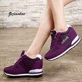 2016 мода спортивная обувь бренда повседневная обувь платформы женская обувь дышащая женщина тренеры дамы обувь chaussure femme xl001