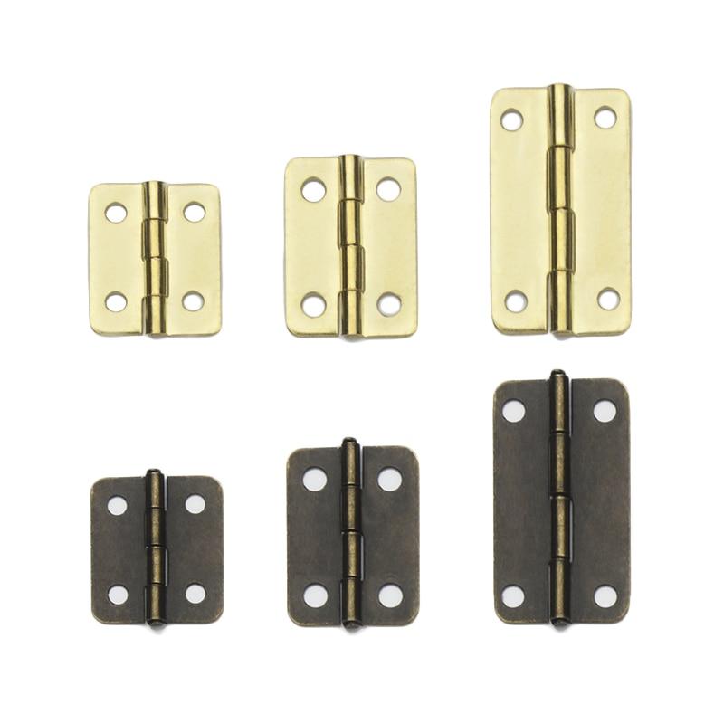 Us 621 10 Offsmall Wooden Box Casket Hinges Flat Open Mini Miniature Hinge 20pcs In Door Hinges From Home Improvement On Aliexpresscom Alibaba