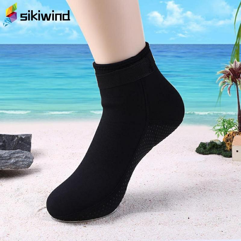1 Pair Swimming Boot Socks Scuba Wetsuit Neoprene Diving Socks Prevent Scratches Warming Snorkeling Socks Z75