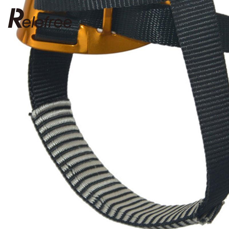 Relefree Right Foot Ascender Riser Rock Mountaineering Equipment Climbing Device Anti-dropping Protector Climbing Accessor