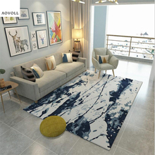 AOVOLL Abstract Style Delicate Carpet Carpets For Living Room Bedroom Rug Kids Rugs for Children Rooms Floor Mat