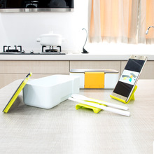 Creative Phone Stand Lunch Box Microwave Heating Portable Dinner for Kids Picnic Office Food Container