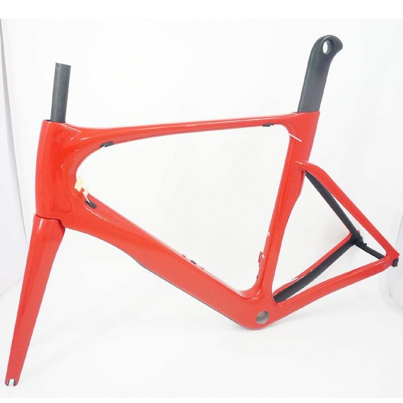 БСА/BB30 Аэро углеродного волокна Дорожный Рама toray углерода Дорожный велосипед Рама 49см 52см 54см 56см 58см
