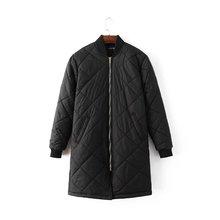 Women Winter Bomber Jacket Women Padded Coat Female Casual Black Coat aqueta feminina Quilted Long Jacket