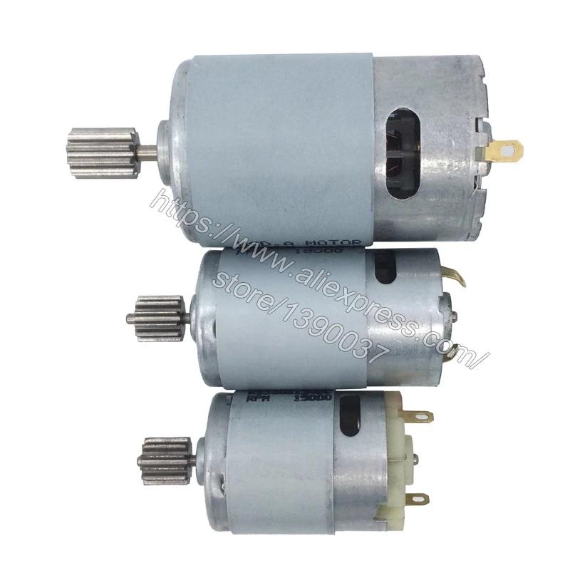 1Pc Children/'s Car Motor DC 6V 12V Electric 550 Motor for Remote Control Car