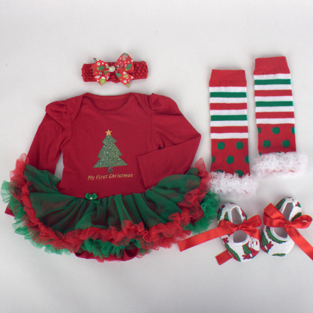 Christmas Baby Girl First Christmas Dress 2018 1