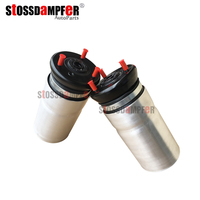 StOSSDaMPFeR 2PCS Suspension Air Ride Front Air Shock Suspension Air Spring Fit Land Rover L319 Discovery 3 LR4 LR3 REB500060