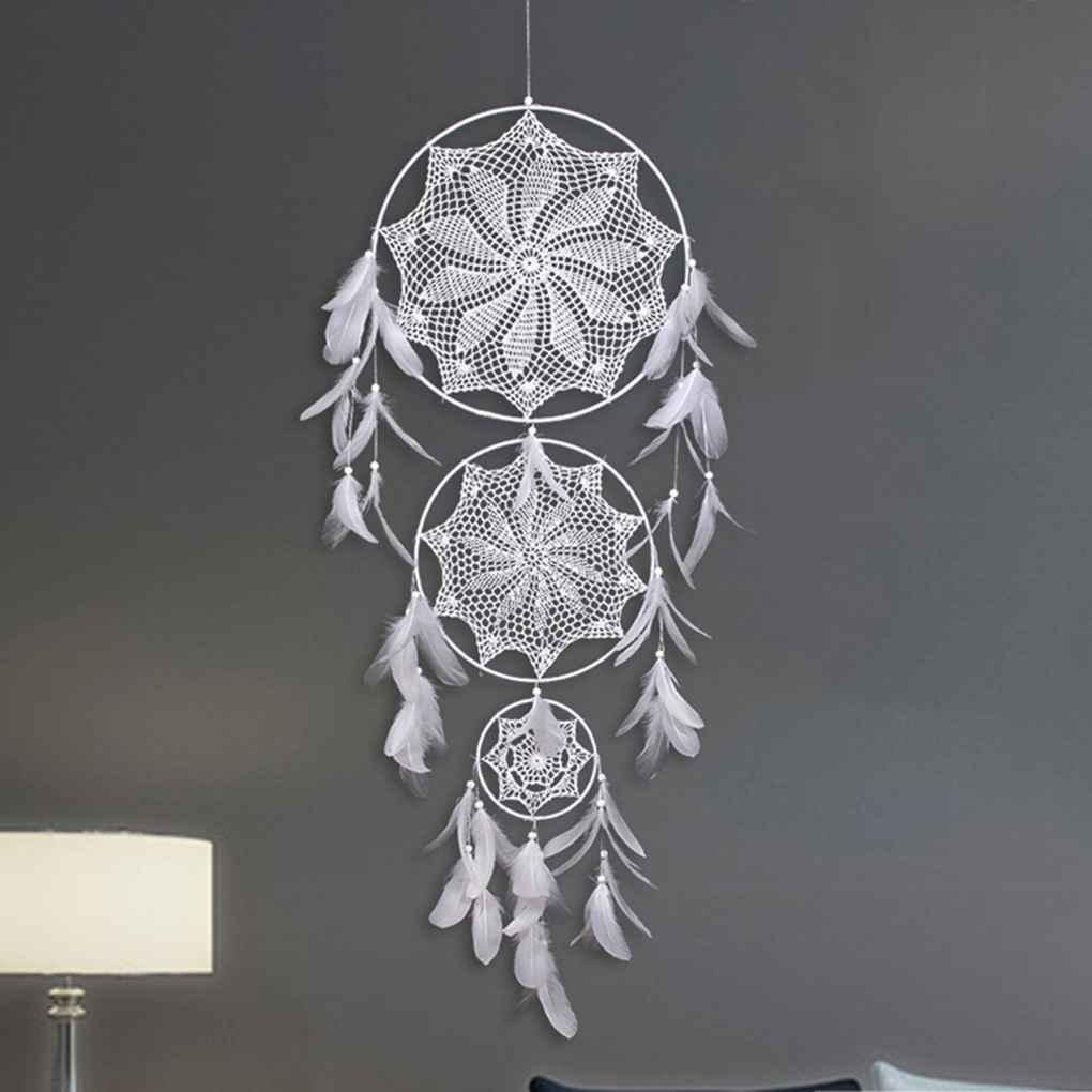 Dreamcatcher handmade home hanging pendant big dream catcher wall art ornament hangings decorations
