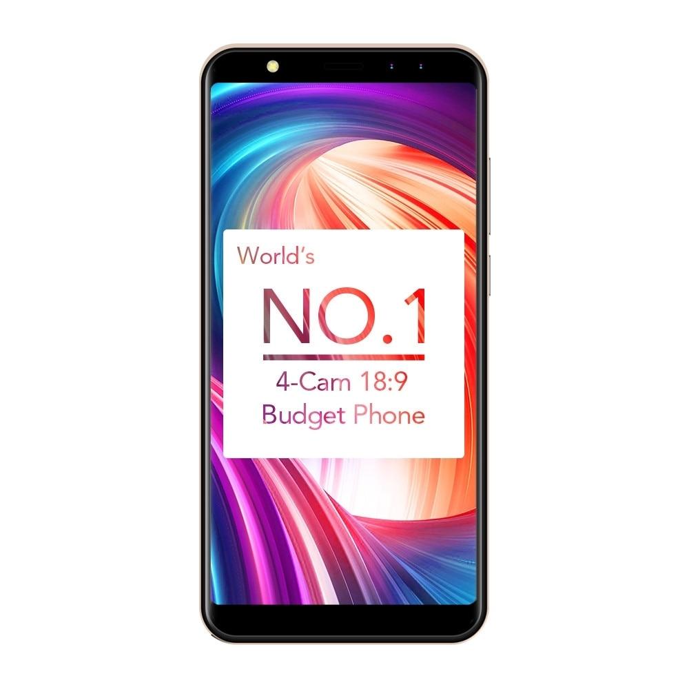 5.5 LEAGOO M9 3G Smartphone 18:9 Screen Four-Cam Android 7.0 2GB+16GB 2850mAh Apr18.28