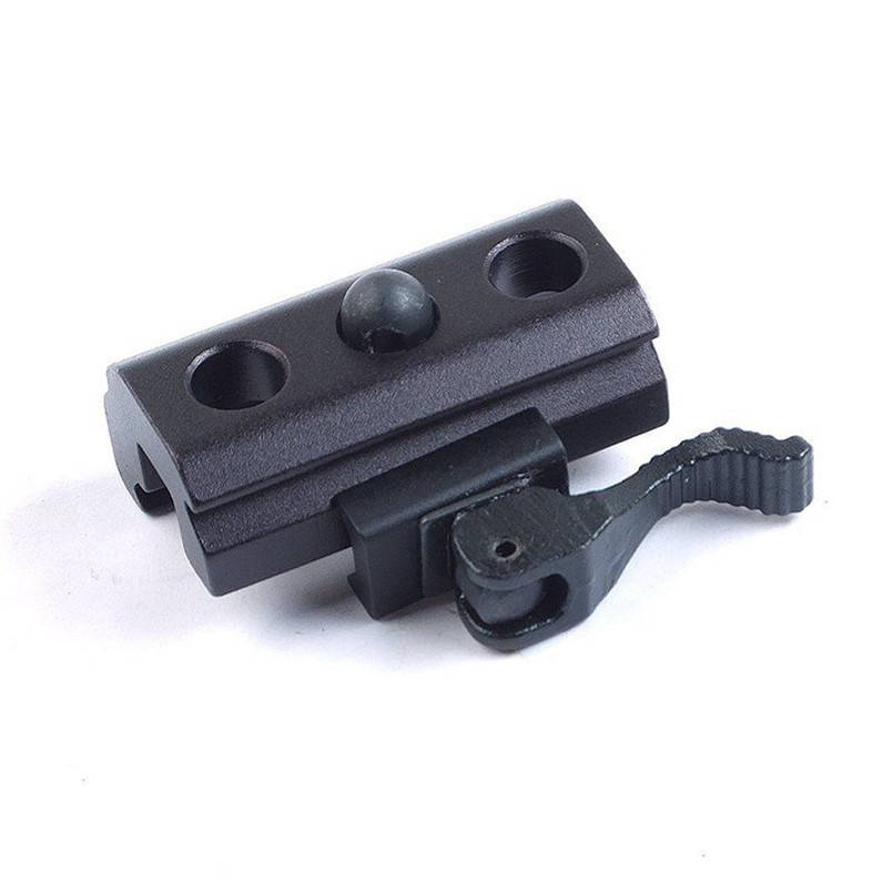 Quick Release Bipod Sling Adapter Mount For 20mm Scope Rail A2