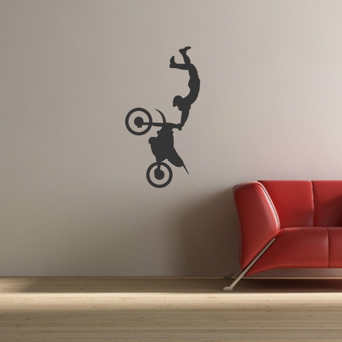 Motorcycle motocross stunt action vinyl sticker play room  boy bedroom  decoration moto bike glue wall. Online Get Cheap Motocross Wall Decor  Aliexpress com   Alibaba Group
