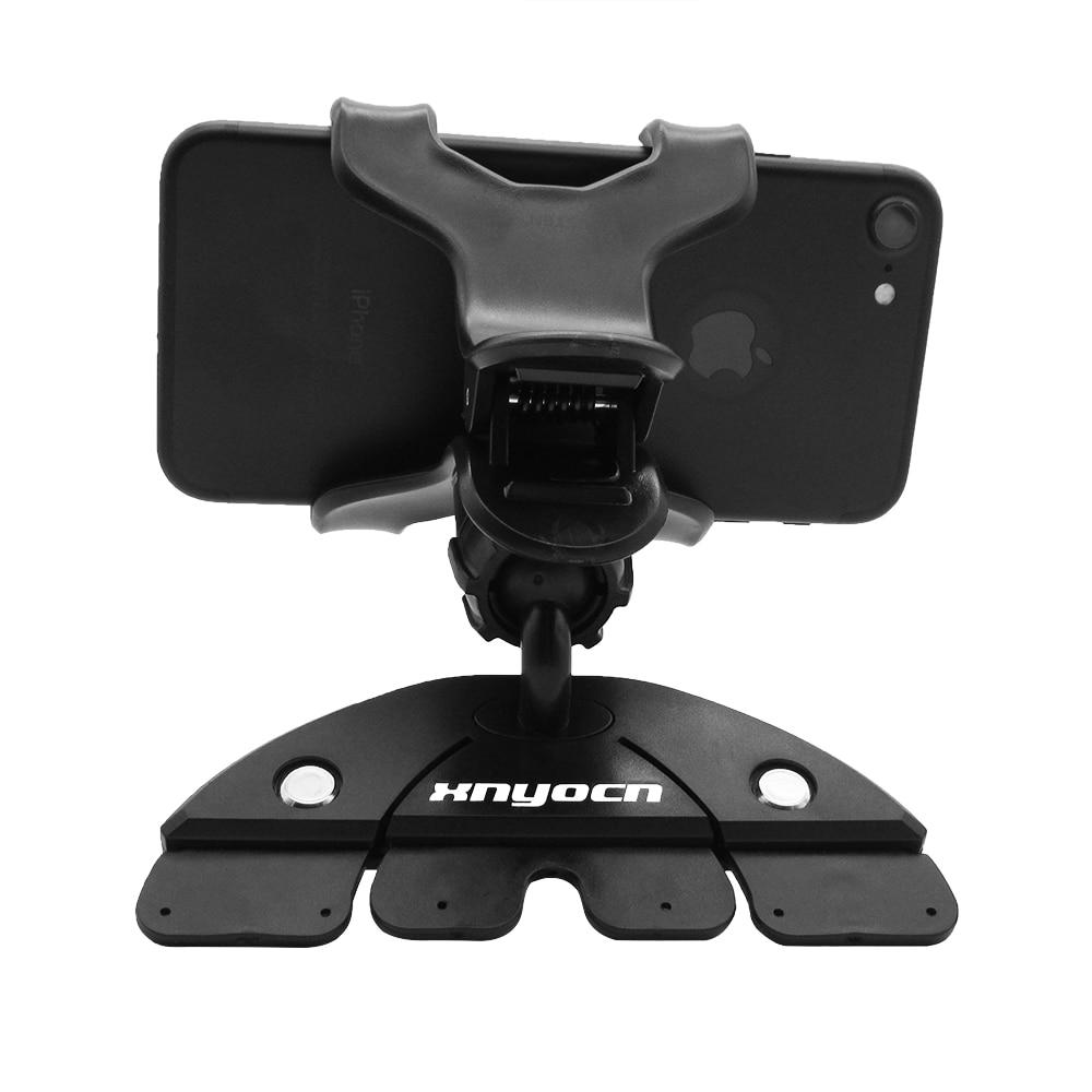 Universal CD Slot Car Cell Phone Holder Mount para iPhone 5 6 Plus - Accesorios y repuestos para celulares - foto 2