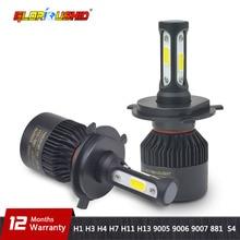 H7 светодиодный H4 H11 H8 H9 H1 H3 H13 9005 HB3 9006 HB4 9007 881 автомобилей Светодиодный фар 72 Вт 8000LM авто свет Противотуманные лампы 6500 К чистый белый