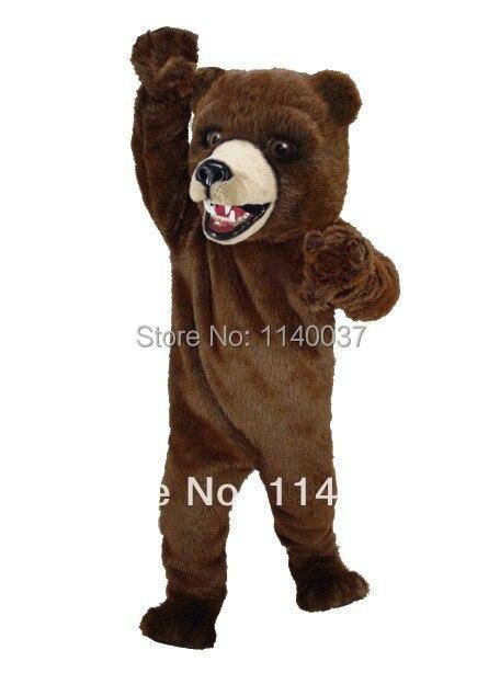 kabala Kodiak Bear plüss kabalája jelmez Jó minőség Legjobb ár - Jelmezek