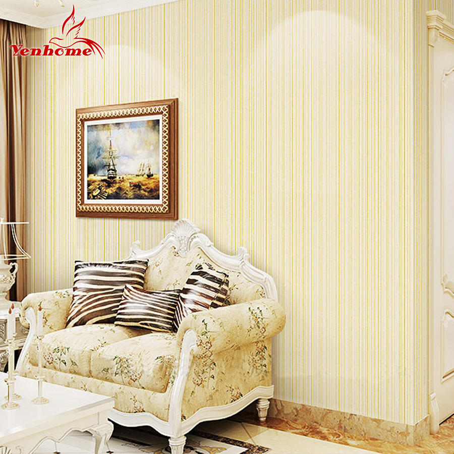 3m Pvc Waterproof Home Decor Wall Stickers Vertical Striped Vinyl Modern Self Adhesive Wallpaper