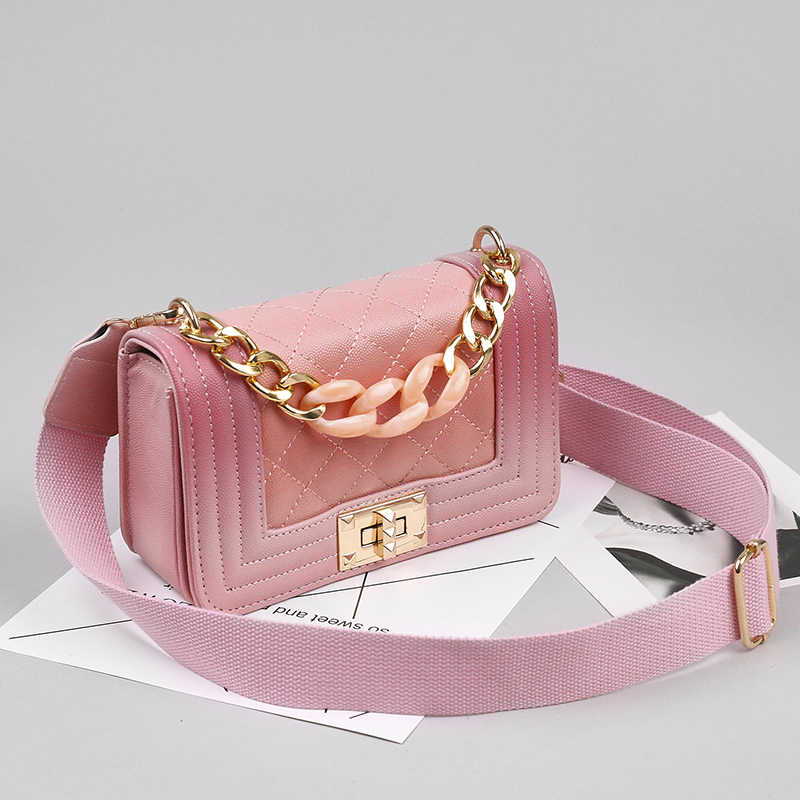 2aeb79904875c ... 2019 new trend Crossbody women Bags High Quality Chain Ladies Women  Messenger Bag Designer Vintage Shoulder ...