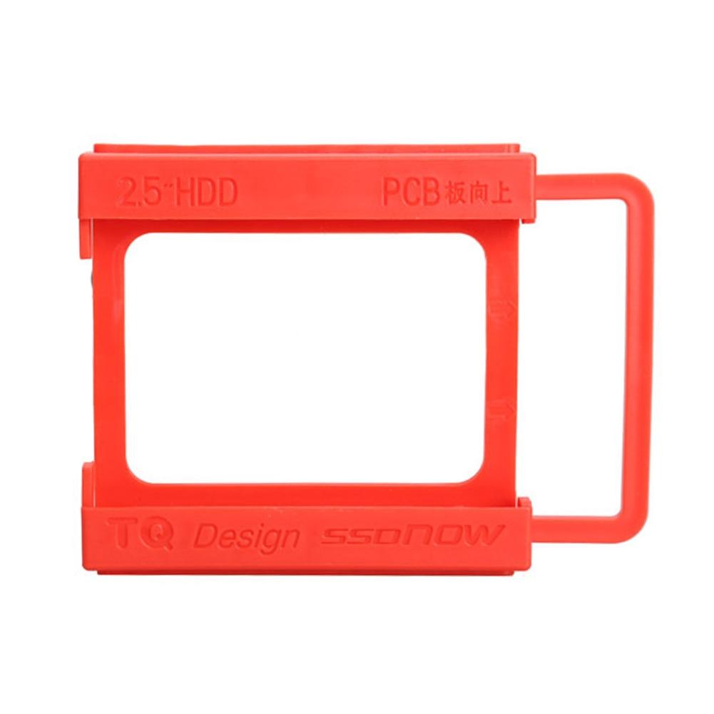 Heißer Verkauf 2,5 Zu 3,5 Zoll Ssd Hdd Festplatte Montage Adapter Bracket Dock Kunststoff Halter Unterhaltungselektronik