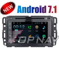 Topnavi Android 7.1 Car DVD Multimedia Player for GMC 2007 2016 Buick Envision 2009 2013 Radio GPS Navigation Audio Stereo 2 Din
