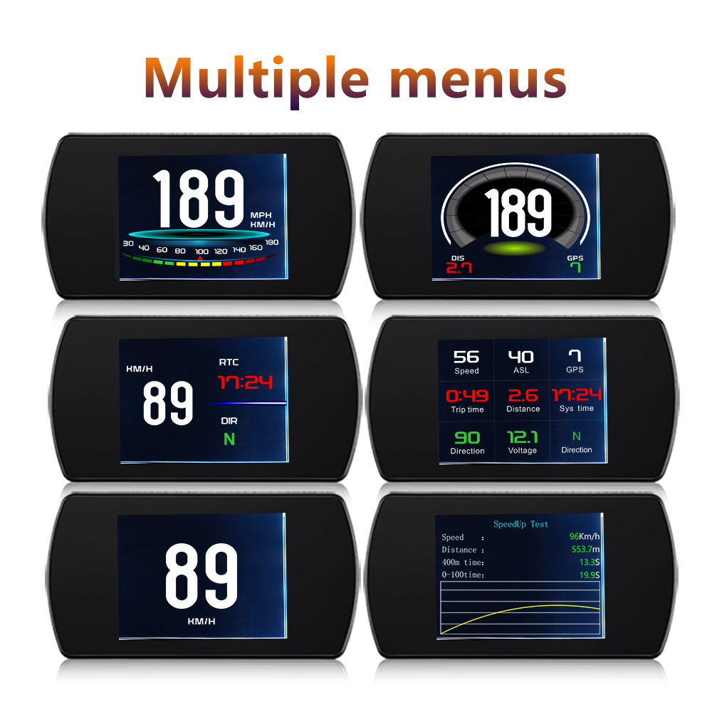 "Image 4 - GEYIREN T800 4.3"" Smart Digital Head Up Display Car HUAutomobile On board Computer Car Digital OBD Driving Computer Display Cars-in Head-up Display from Automobiles & Motorcycles"