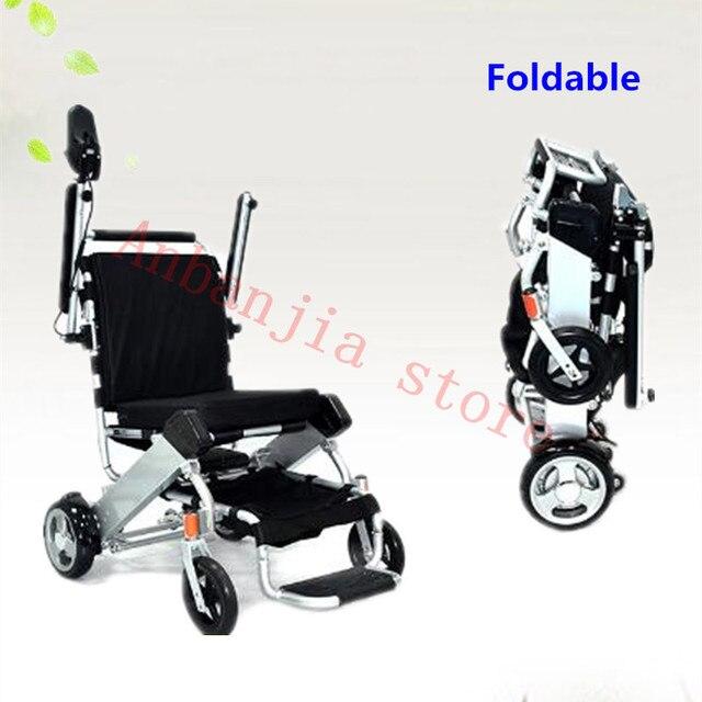 sillas de ruedas electricas ligeras y plegables