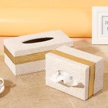Free shipping Quality tissue box pumping wool fashion fabric paper car home