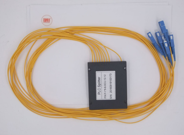 10pcs new fiber branching device optical connector splitter 1 8 rh aliexpress com DSL Splitter Box Fiber Splitter Box