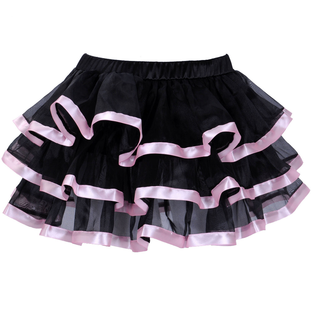 UTMEON Adount Burlesque tulle Skirt white,black