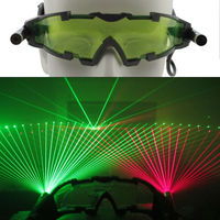 HOT SALE! OXLasers New Party Laser Glasses for pub club DJ shows with 1 red laser and 1 green laser free shipping