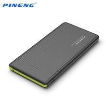 Bateria de Carregamento 100% Original Pineng Pn-951 10000 MAH Portátil Rápido Banco de Energia Móvel Dupla Saída USB Carregador Li-polímero