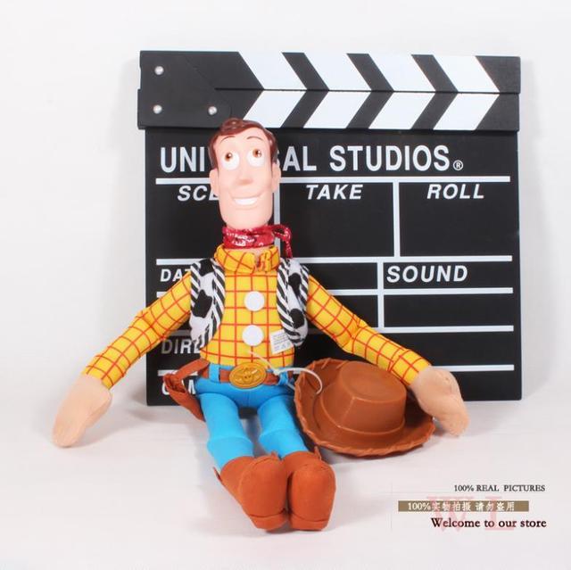 """Toy Story Woody Figura de Juguete de Peluche de Juguete de felpa Suave Muñeca de Peluche Niñas para Niños Chicos 5 unids/lote Envío Libre 16"""""""