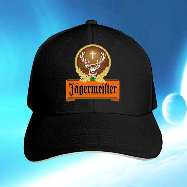 3bd6d689c7090 Jagermeister Design Fashion Adjustable Peaked Cap Baseball Cap Golf Hats