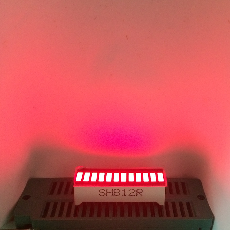 5 X 12 Segment Bar-graph Bargraph 12segmentos RED Light Bar Graph Numbers LED Signs Module Display Cube Red Boards Displays Tube