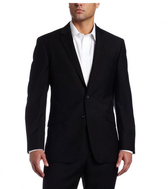 2017 Novos Homens Ternos (Casacos + Calças) Magro Custom Fit Tuxedo 2 Peças Bridegroon Negócios Formal Do Casamento Vestido vestido de Terno