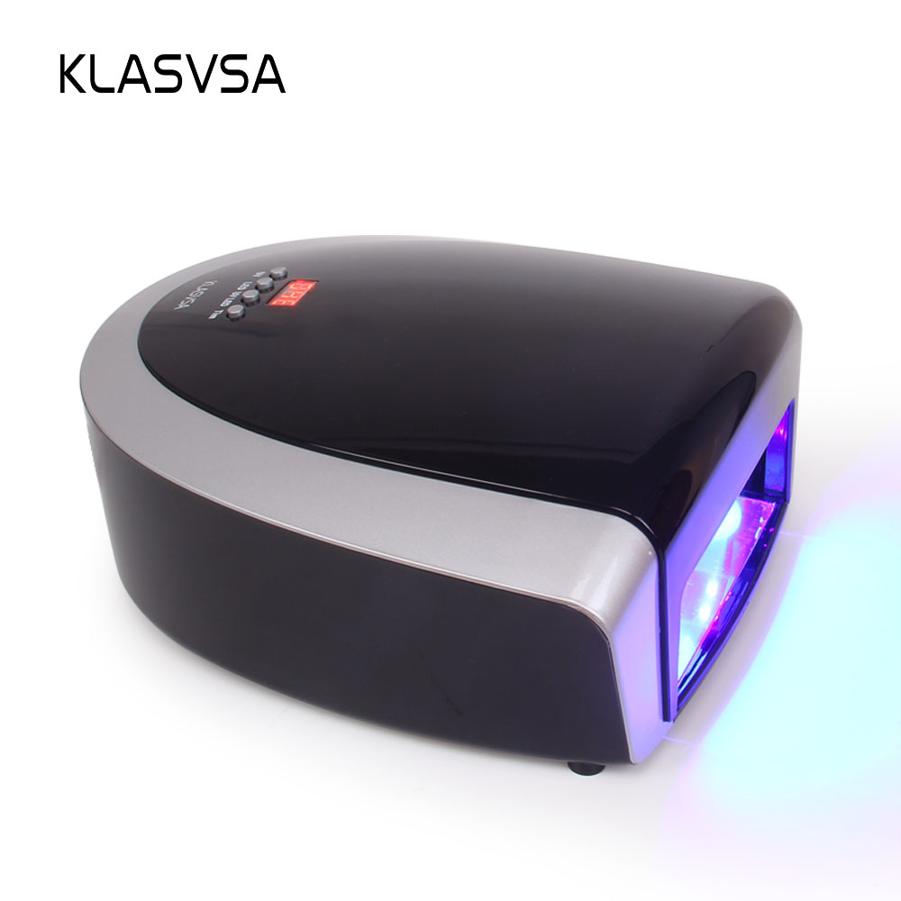 KLASVSA Electric 66W LED UV Lamp Nail Dryer Timer Gel Polish Color Art Tool Curing Manicure Lamp For Nails Machine Beauty Salon