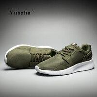 Viihahn Mens Running Shoes 2017 Breathable Lưới Ren Up Huấn Luyện Viên Đi Bộ Ngoài Trời Giày Thể Thao Sneakers Thể Thao cho Nam Giới Kích Thước 40-46