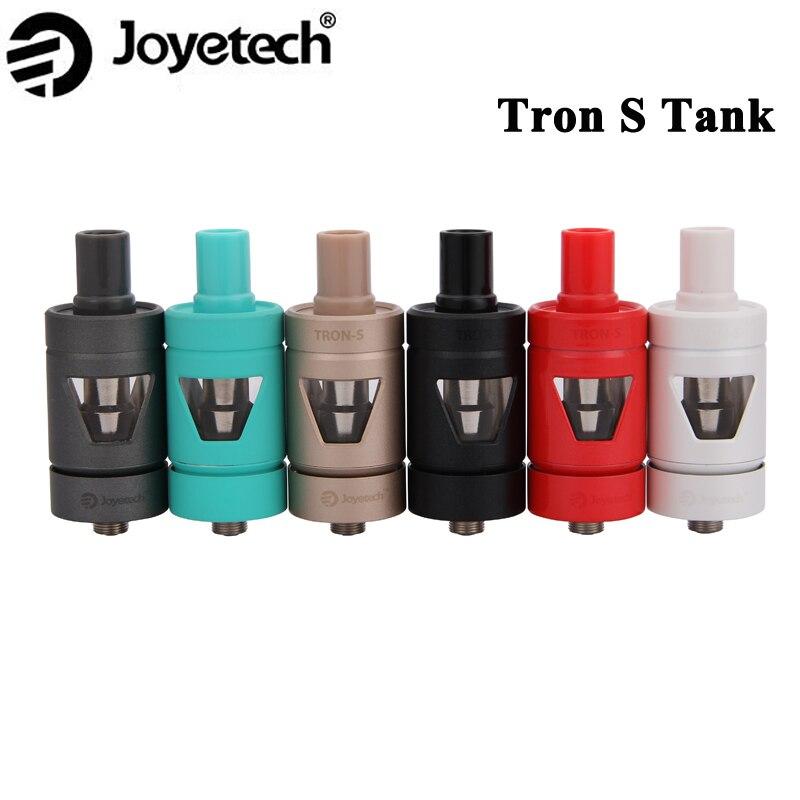 bilder für Original Joyetech TRON-S Zerstäuber 4 ML mit Seite Betrachtung Design Tank Tron S Clearomizer Für eVic VTC Mini Box Mod Vape