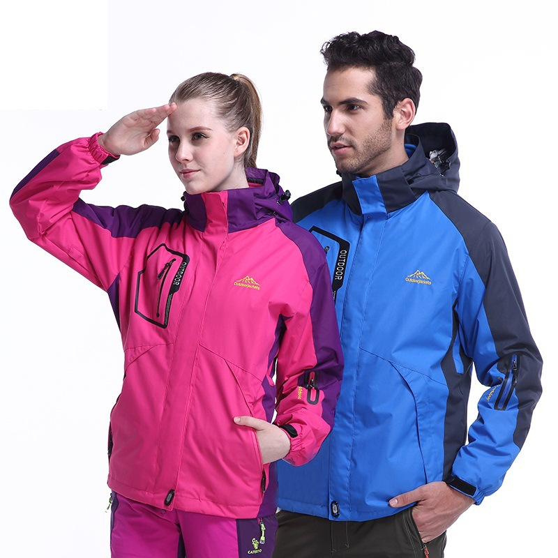 Winter fleece jacket three in one two sets of men and women couple outdoor jacket hiking camping sports waterproof skiing coat ananda reddy narravula vijay kumar varma s and raju m c effects of chemical reaction on two and three dimensional mhd flows