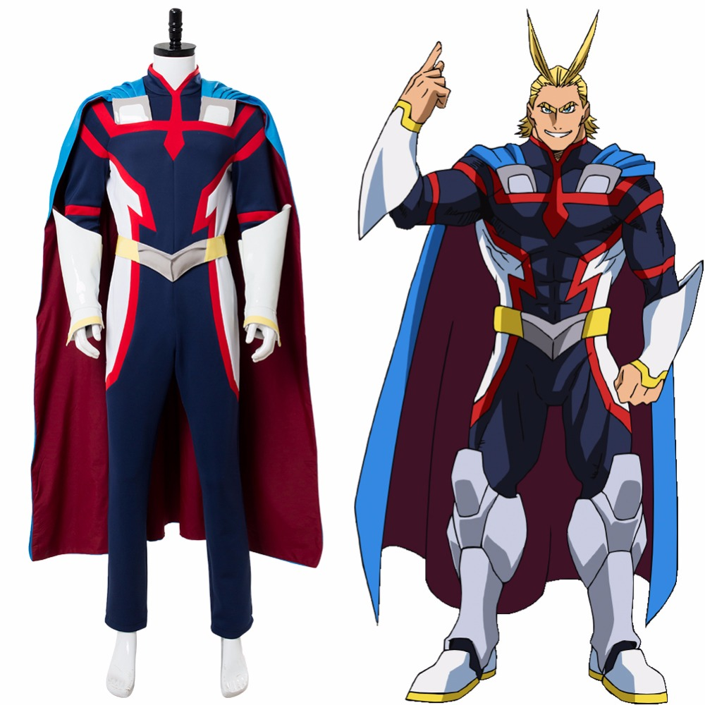 Costume My Hero Academia: Two Heroes Young All Might Costume Boku no Hero Academia All Might Cosplay Halloween Custom Made