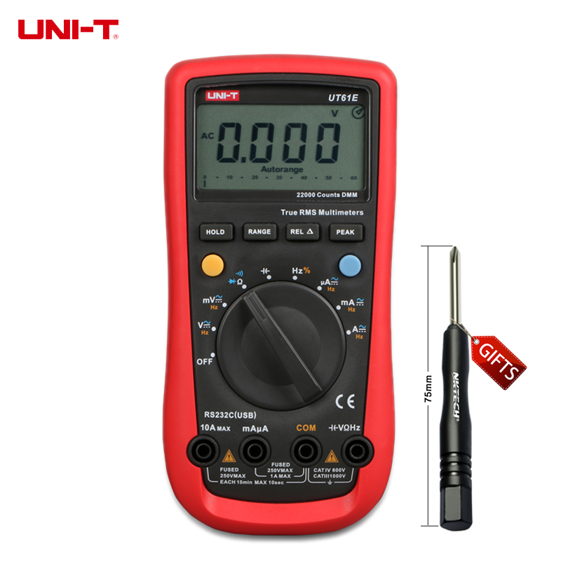 UNI-T UT-61E Modern Digital Multimeters UT61E AC DC Meter шины pirelli scorpion atr 255 65 r17 110t