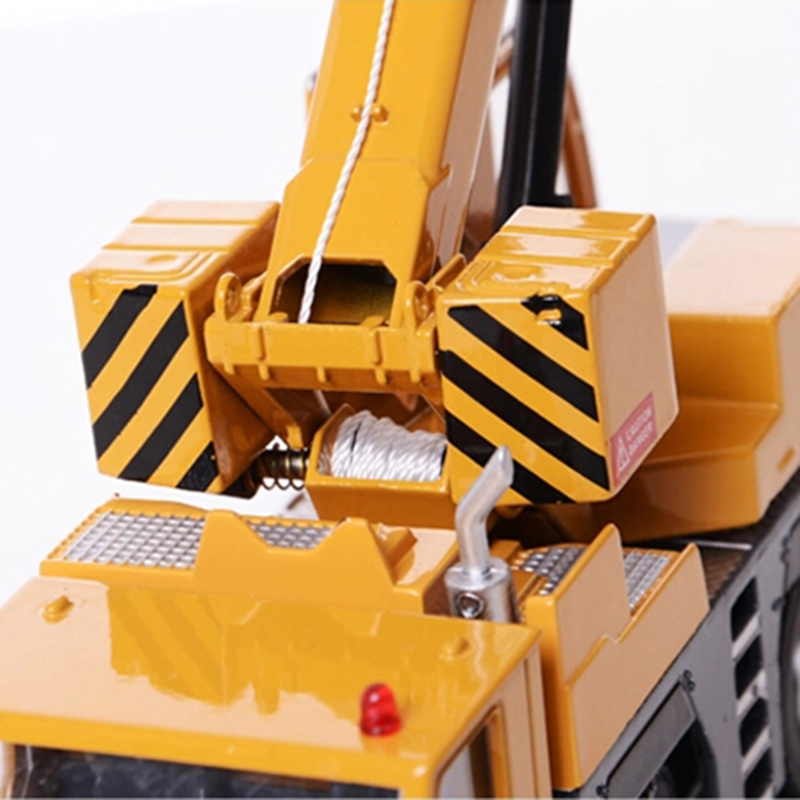 1:50 High Simulation Alloy Crane Truck Toy Car Mini Diecast Engineering Crane Car Model Best Gift For children Educational Toys