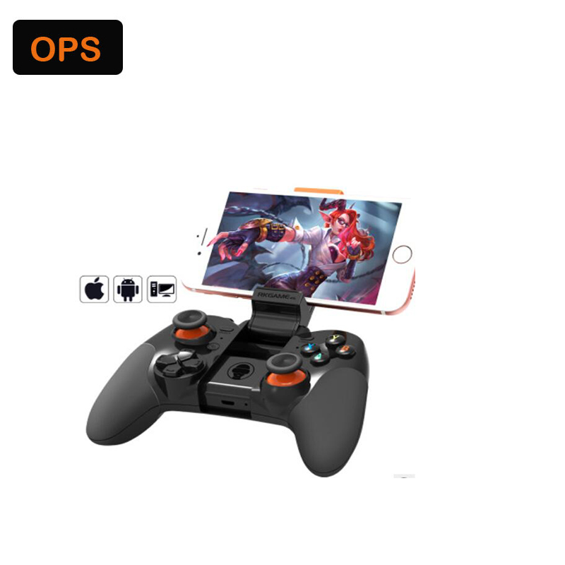 US $22 08 31% di SCONTO|LED Bluetooth Game pad per Android, IOS, PC, Smart  TV & vibrazione Doppio motore & Vibrazione maniglia gioco in LED Bluetooth