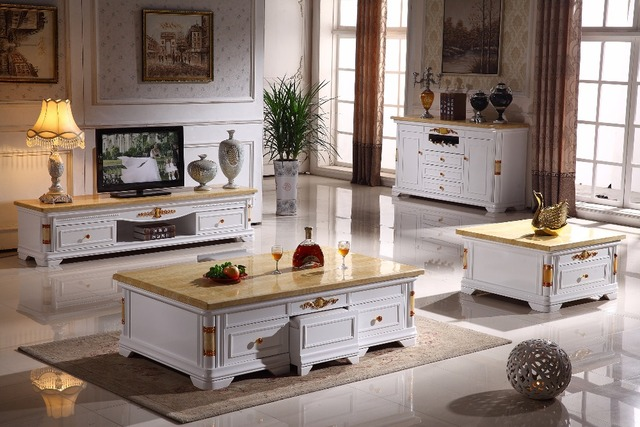 Woonkamer Houten Meubels : Antieke houten woonkamer set salontafel end tafel tv stand